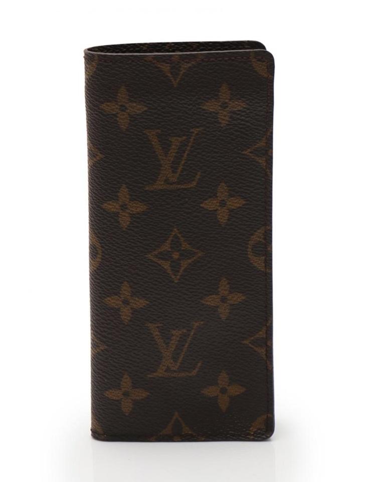 超美品 LOUIS VUITTON ルイヴィトン エテュイ リュネット モノグラム メガネケース M62962【本物保証】【中古】