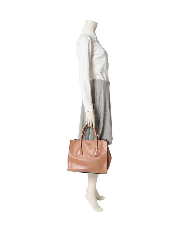 eba28f3821ef0b 3R boutique: PRADA Prada GLACE'CALF 2WAY handbag B2625M leather ...