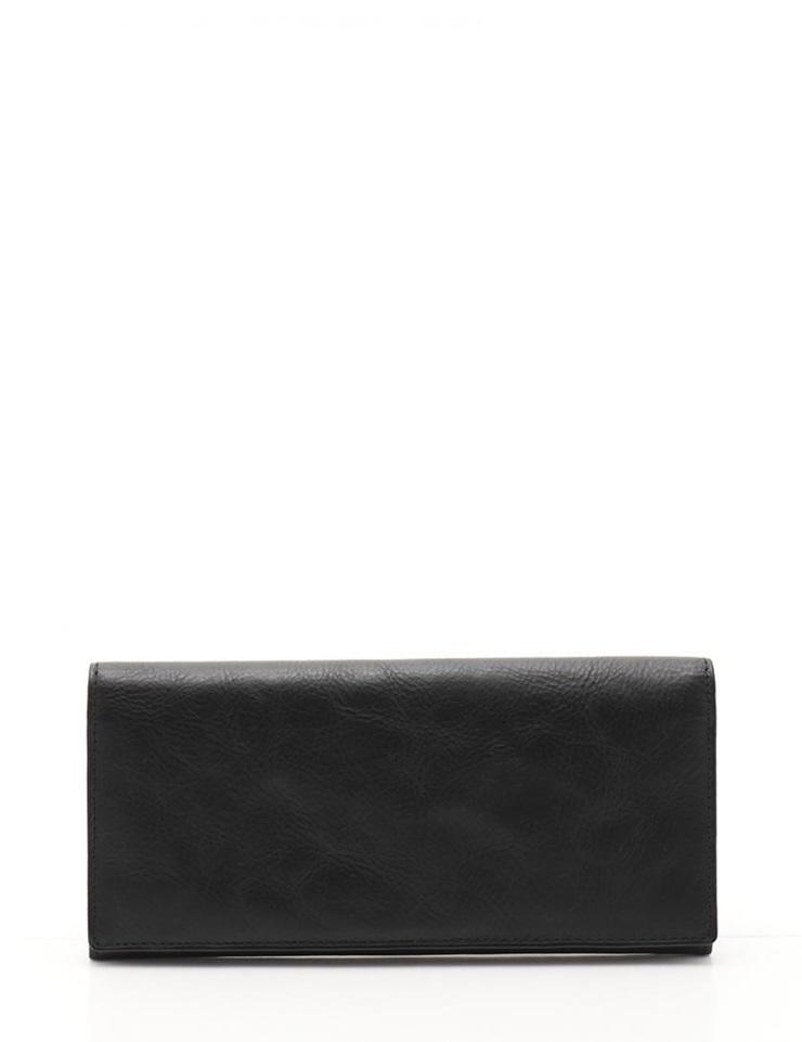 【エントリーでポイント10倍!4/9~】新品未使用展示品 Paul Smith ポールスミス 二つ折り長財布 レザー 黒 ブラック メンズ PSP167【本物保証】【中古】