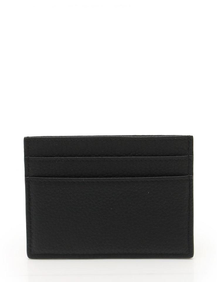 新品未使用展示品 Dior HOMME ディオールオム カードケース レザー 黒 小物 メンズ【本物保証】【中古】