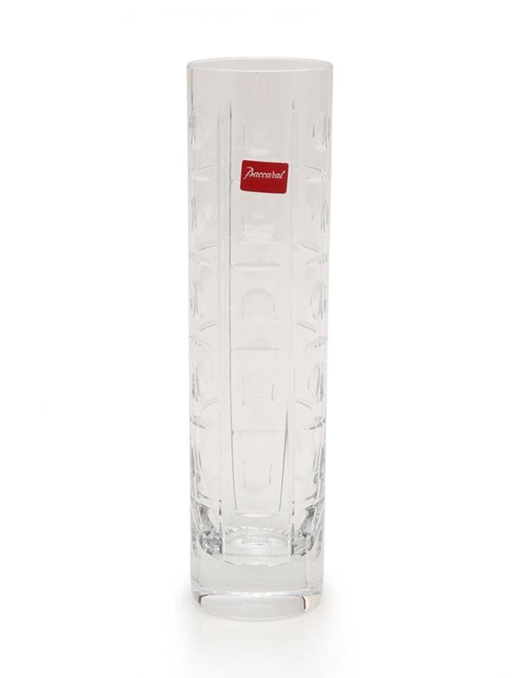 新品未使用展示品 Baccarat バカラ 花瓶 エキノックス一輪挿し フラワーベース クリスタルガラス クリア【本物保証】【中古】