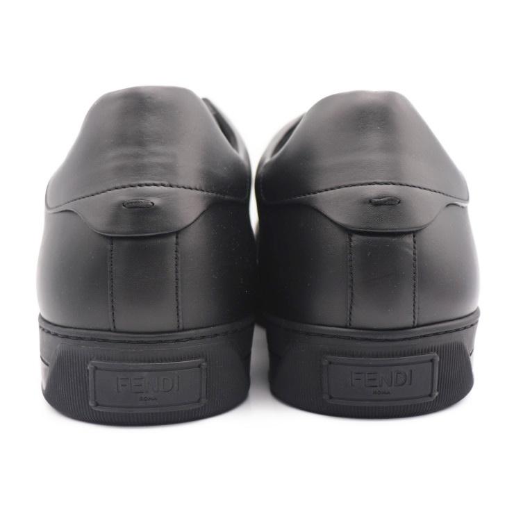 8a0434e1 New article-free display FENDI Fendi shoes men sneakers leather black maker  size 10