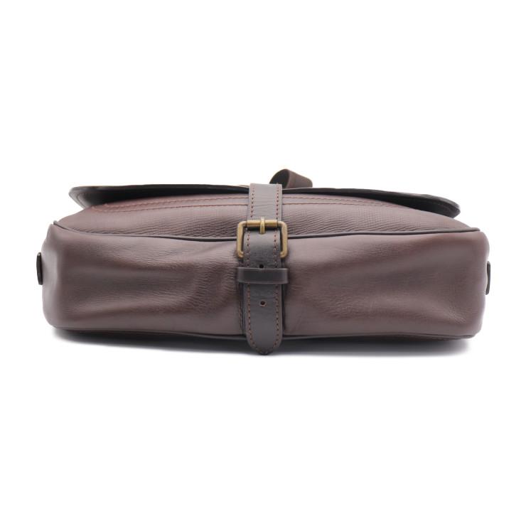 7d5d5d2c89 LOUIS VUITTON Louis Vuitton Utah Omaha men shoulder bag M92994 leather cafe  [genuine guarantee]