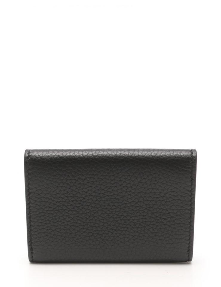 8df3e054e4d7 Hold beautiful article GUCCI Gucci splinter; card case 473923 leather black  black men [genuine guarantee]
