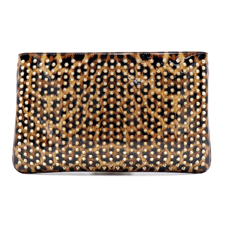 9c84fa45ed0 Beautiful article Christian Louboutin クリスチャンルブタン LOUBIPOSH ルビポッシュ 2WAY  clutch bag shoulder bag 1165014 patent leather ...