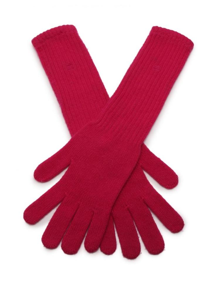 美品 CHANEL シャネル 手袋 グローブ カシミヤ ピンク アパレル レディース【本物保証】【中古】