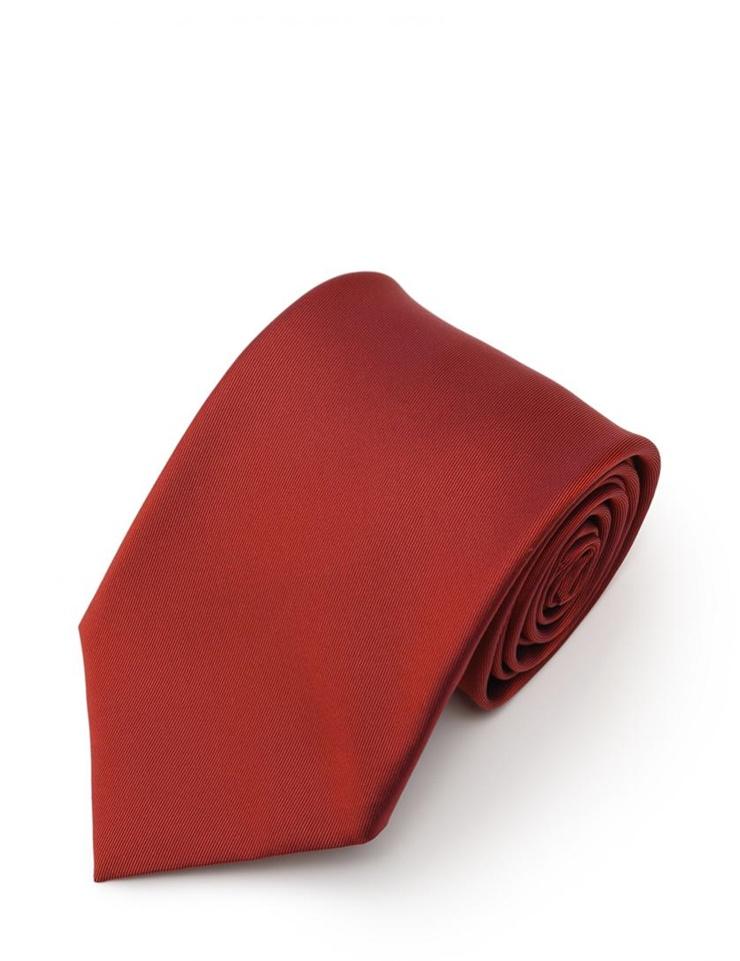 新品未使用展示品 HERMES エルメス ネクタイ 無地 シルク 赤 アパレル 小物 メンズ【本物保証】【中古】
