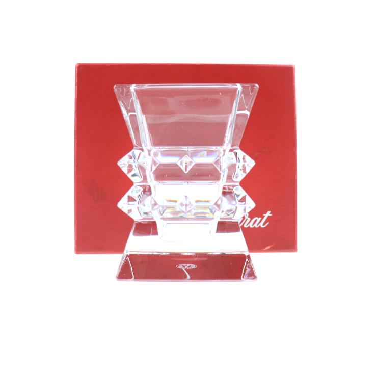 新品未使用展示品 Baccarat バカラ コロンビーヌ 花瓶 フラワーベース クリスタルガラス クリア【本物保証】【中古】