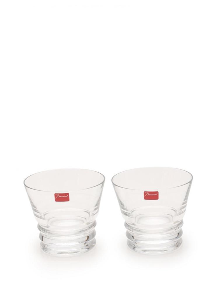 新品未使用展示品 Baccarat バカラ ベガ ペアロックグラス クリスタルガラス クリア【本物保証】【中古】