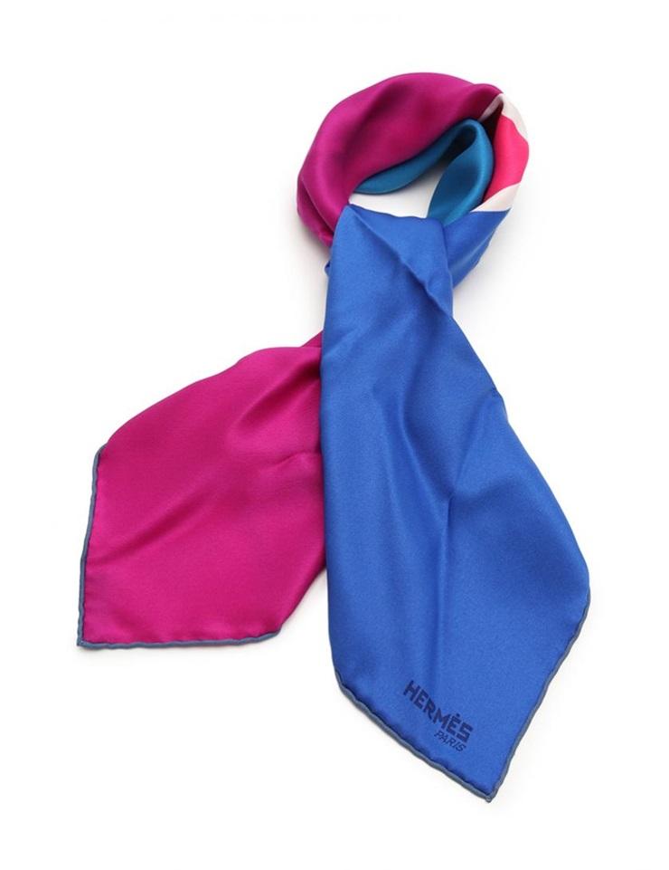 【エントリーでポイント10倍!4/9~】新品未使用展示品 HERMES エルメス カレ70 スカーフ シルク ピンク マルチカラー ヴィンテージ【本物保証】【中古】