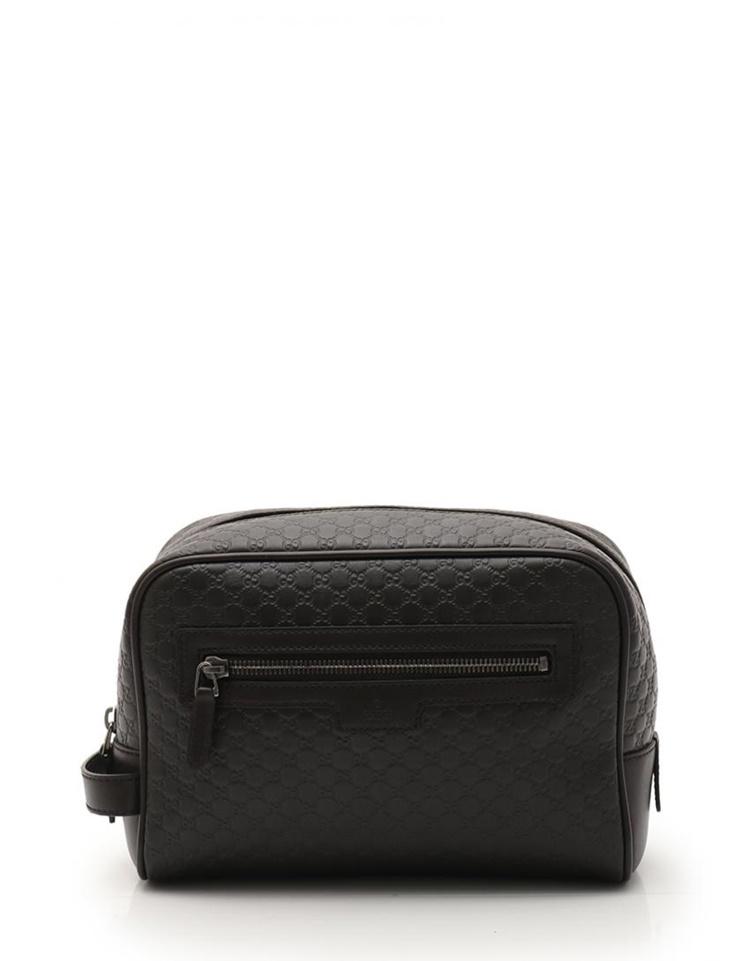 dee1682f1 Beautiful article GUCCI Mai Gucci black Gucci sima second bag clutch bag  419775 leather tea brown [genuine guarantee]