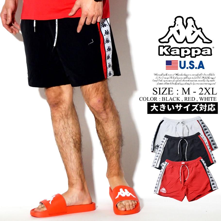 0b9f0832 Fashion hip-hop street system of KAPPA rain jacket swimsuit men surf  underwear men side line BANDA vanda B origin