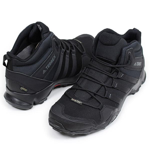 de6edb537341 Shoes black BB4602 for the adidas Adidas TERREX AX2R MID GORE-TEX men  trekking shoes  BLACK  telex Gore-Tex outdoor mountain climbing hiking  shoes man