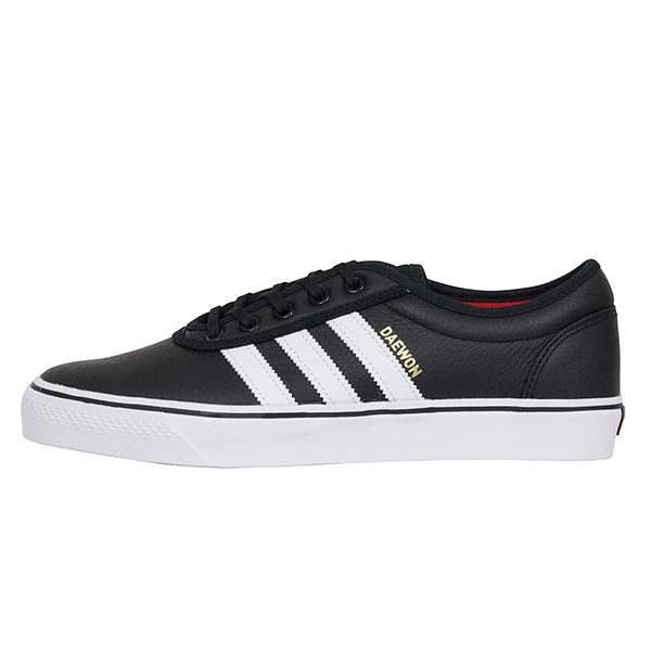 adidas skateboarding アディダス ADI-EASE X DAEWON メンズ スニーカー BLACK アディイース ブラック スケートボード スケシュー レザー シューズ 黒 男性用 靴 送料無料 SB CG4905
