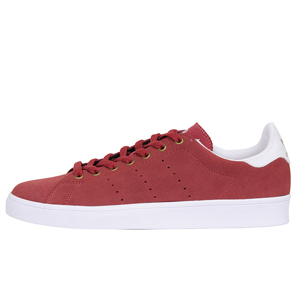 size 40 59604 8e7ac Play adidas skateboarding Adidas STAN SMITH VULC men sneakers  BURGUNDY  Stan  Smith skating  スエードバーガンディスケートボードスケシュー SB BB8745