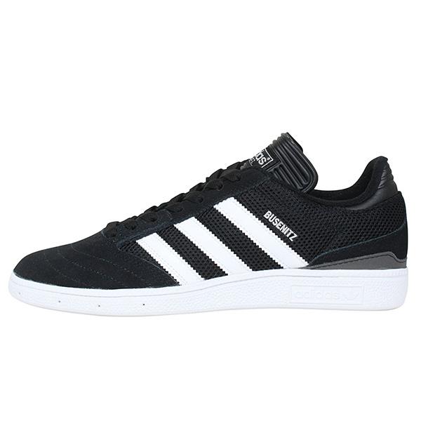 adidas skateboarding アディダス BUSENITZ PRO スニーカー BLACK/WHITE メンズ ブラック スエード スケートボード スケシュー 送料無料 F37347 通販