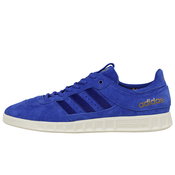 adidas アディダス CONSORTIUM x FOOTPATROL x JUICE HANDBALL TOP S.E. メンズ スニーカー BLUE オリジナルス フットパトロール ハンドボール ブルー スエード 男性用 靴 送料無料 CM7876