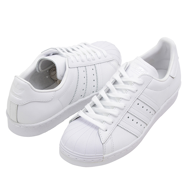 Shoes S79443 Rakuten mail order for adidas Adidas SUPER STAR 80S Lady's sneakers ALL WHITE superstar white originals leather shoes SS lady of the