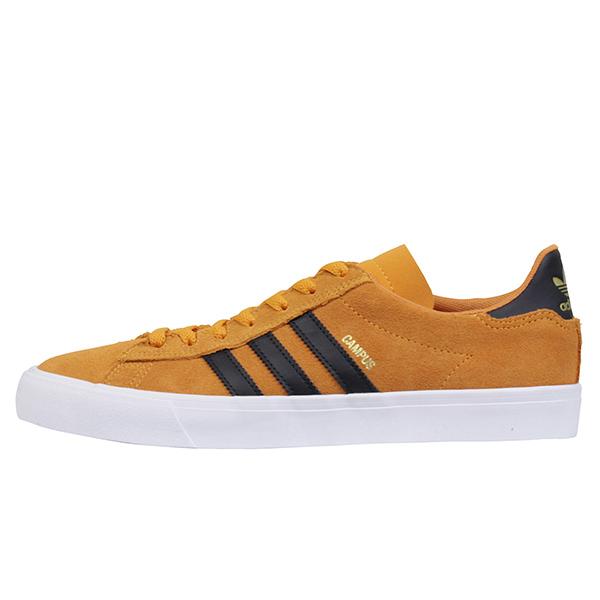 adidas skateboarding アディダス CAMPUS VULC 2 メンズ スニーカー ORANGE/BLACK キャンパス バルカナイズド オレンジ スエード スケシュー シューズ 男性用 靴 送料無料 SB CQ1079
