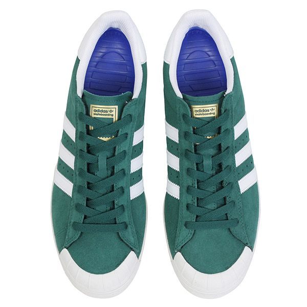 separation shoes 0a09f db862 adidas skateboarding Adidas HALF SHELL VULC men sneakers GREENWHITE