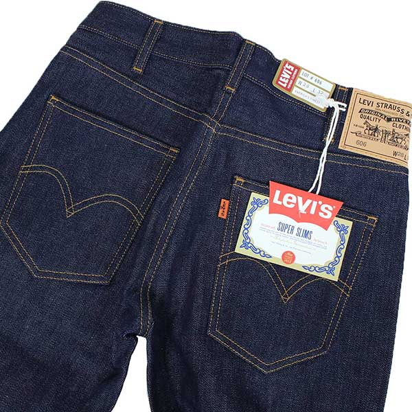 764dcf69901 Levi's Vintage Clothing 606 BIG E 1969 MODEL men slim denim underwear [RIGID ]