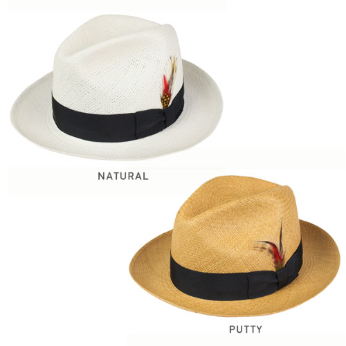 2078 Rakuten Mail Order For The NEW YORK HAT New York Hat Panama Fedora All Two Colors NATURAL PUTTY Straw Natural White Bamboo