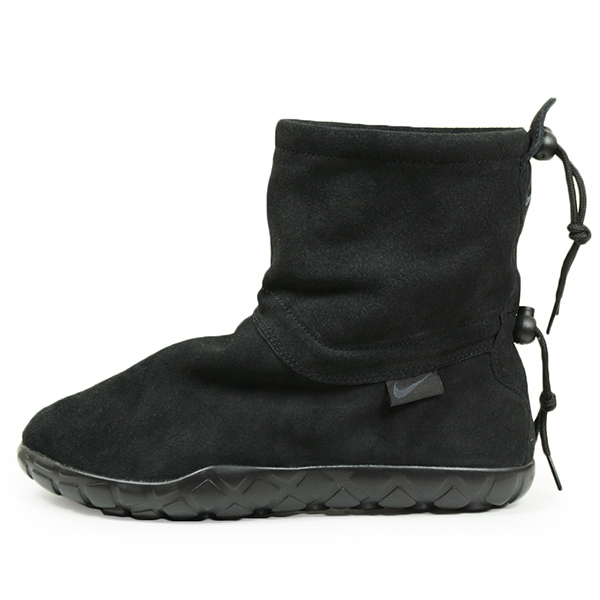 NIKE ナイキ AIR CHUKKA MOC ULTRA メンズ スニーカー BLACK チャッカモック ブラック スエード 本革 レザー スリッポン シューズ 男性用 靴 送料無料 ACG AH7915-001