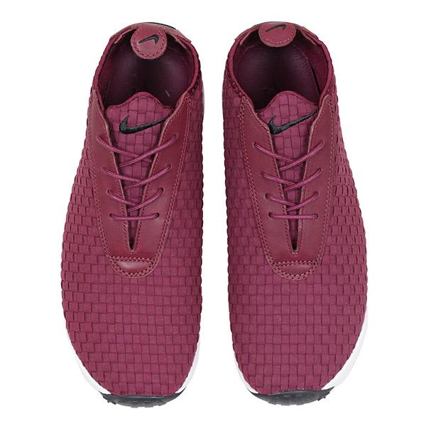 Play NIKE Nike AIR FOOTSCAPE DESERT CHUKKA QS men sneakers BURGUNDY feet cape dessert chukka boots; bar Gandhi NIKE LAB HTM ACG shoes 637,162 600