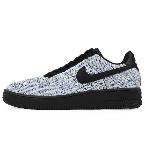 Shoes 817,419 401 for the NIKE Nike AIR FORCE 1 ULTRA FLYKNIT LOW men sneakers BLUEBLACK Air Force One fried food knit shoes blue black man