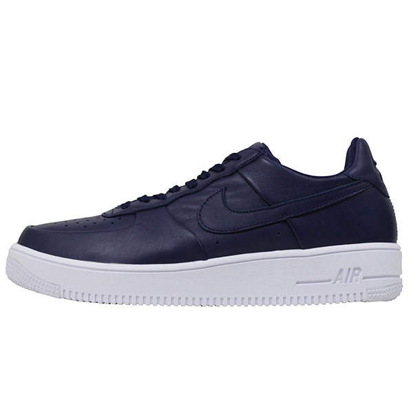 Shoes 845,052 402 Rakuten mail order for the NIKE Nike AIR FORCE 1 ULTRAFORCE LEATHER men sneakers NAVY Air Force One leather genuine leather shoes
