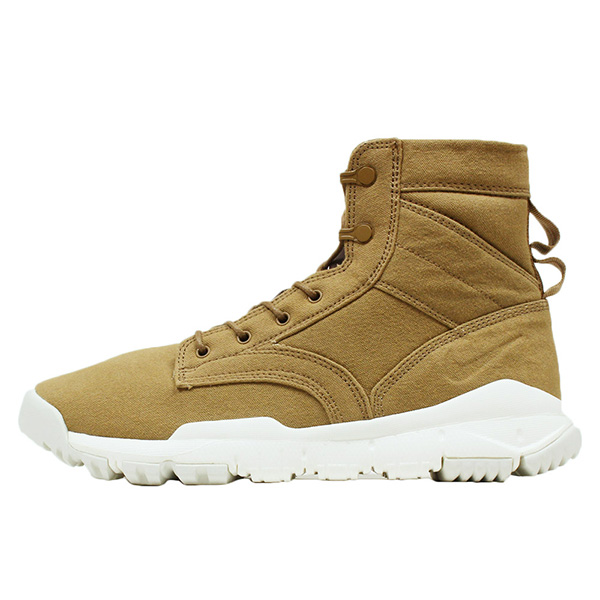 NIKE Nike SPECIAL FORCE BOOTS 6  CANVAS NSW men sneakers  GOLDEN BEIGE   khaki brown boots military SFB NIKE LAB ACG 844 dd9310183