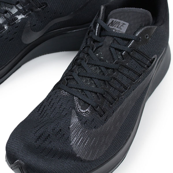 f2d51f8913cf NIKE Nike ZOOM FLY men sneakers TRIPLE BLACK zoom fly black running shoes  LAB 4% 880