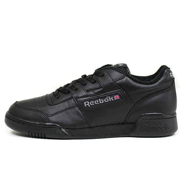 dc37b06d2fe6 Reebok Reebok WORKOUT PLUS VINTAGE men sneakers  ALL BLACK  black leather  practice game vintage shoes 90s PALACE SKATE black BD3387