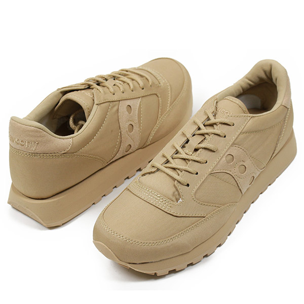wholesale dealer 87f6b 4a8bf SAUCONY サッカニー JAZZ ORIGINAL MONO men sneakers TAN jazz original monotone  military retrorunning shoes classical music masterpiece タンベージュウィート USA