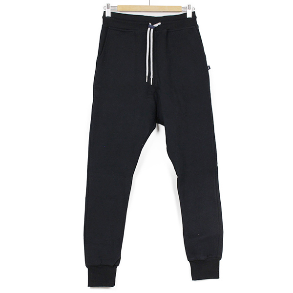 SWEET PANTS スイートパンツ Loose Pants メンズ スウェットパンツ BLACK ブラック 黒 サルエルパンツ ルーズフィット スエット フランス フレンチテリー レディース 聖林公司 HRM 送料無料
