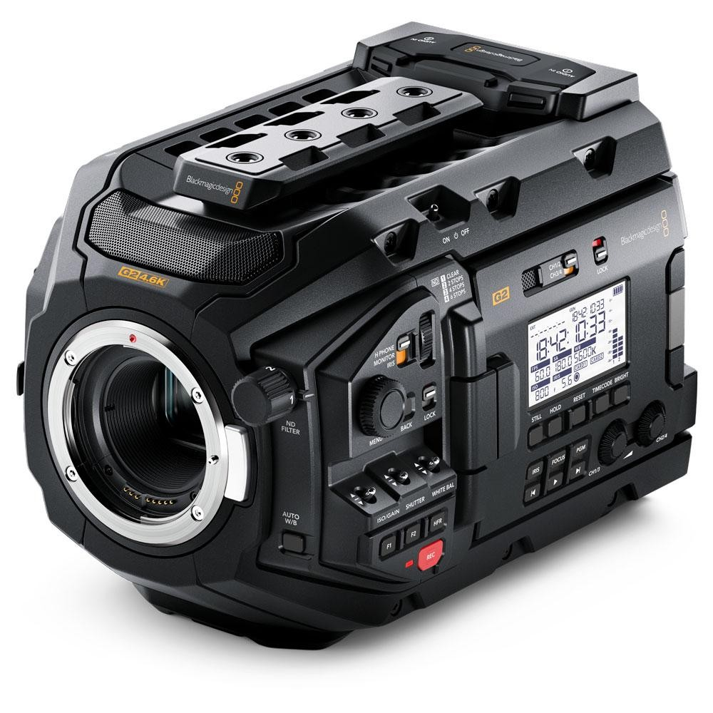 BlackmagicDesign CINEURSAMUPRO46KG2 Blackmagic URSA Mini Pro 4.6K G2 【お取り寄せ品】