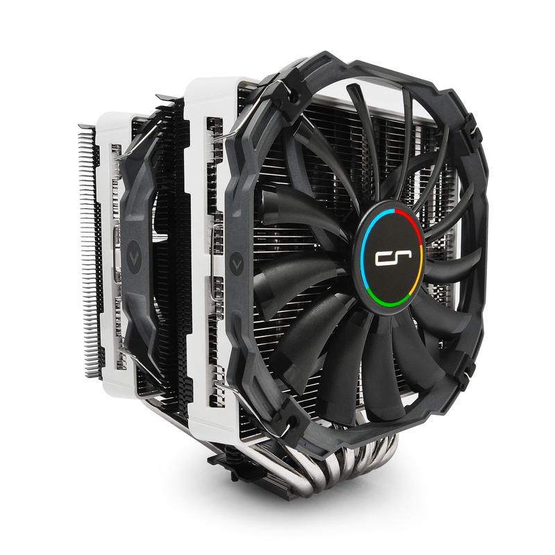 CRYORIG R1 Universal V2 TDP 240W+対応 ユニバーサル仕様のサイドフロー型空冷CPUクーラー