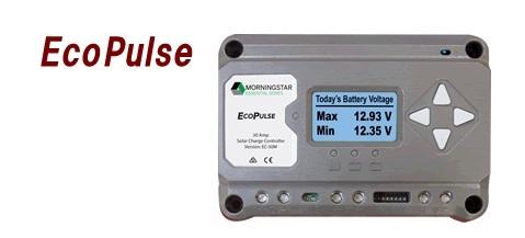 電菱 EC-30M 太陽電池充放電コントローラ【代引き不可・直送のみ】