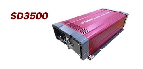 電菱 SD3500-124 DC-AC正弦波インバータSDシリーズ【代引き不可・直送のみ】