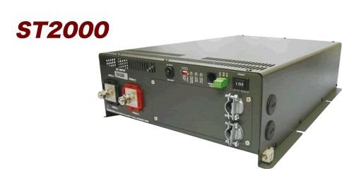 電菱 ST2000-124 DC-AC正弦波インバータSTシリーズ【代引き不可・直送のみ】