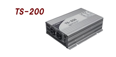 電菱 TS-200-112A DC-AC正弦波インバータTSシリーズ【代引き不可・直送のみ】