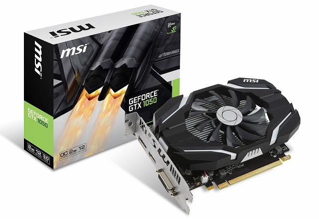 超激安 MSI NVIDIA GTX GeForce (VD6204) GTX 1050 2G OC (VD6204) NVIDIA GeForce GTX 1050を搭載。シングルファン設計を採用するショートサイズのグラフィックボード。, ニシイバラキグン:ad1ad254 --- kventurepartners.sakura.ne.jp