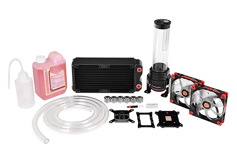 Thermaltake CL-W063-CA00BL-A Pacific RL240 Water Cooling Kit Pacific RL240ラジエーター同封モデル