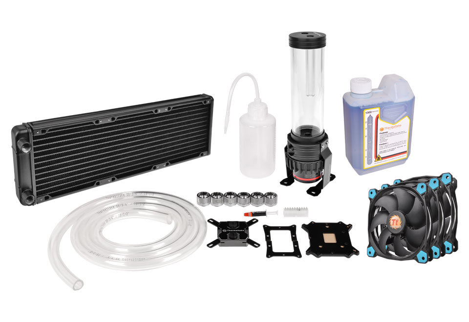 Thermaltake CL-W115-CA12BU-A Pacific R360 D5 Water Cooling Kit Pacific R360ラジエーター同封モデル