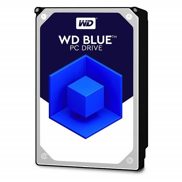 WesternDigital WD60EZAZ WD Blue SATA 6Gb/s 256MB 6TB 5,400rpm class 3.5inch AF対応【バルク品】