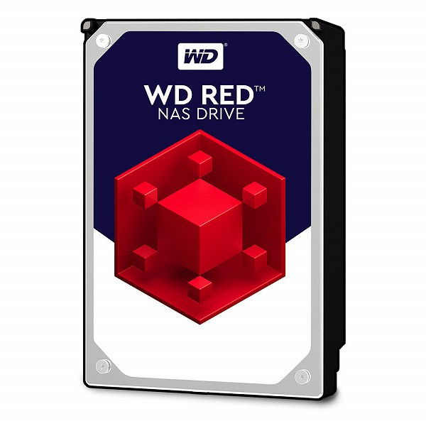 合計5000円以上送料無料!※一部地域除く 【エントリーでポイント5倍】WesternDigital WD40EFRX-RT2 WD Red SATA6Gb/s 64MB 4TB 5,400rpm class 3.5inch【バルク品】