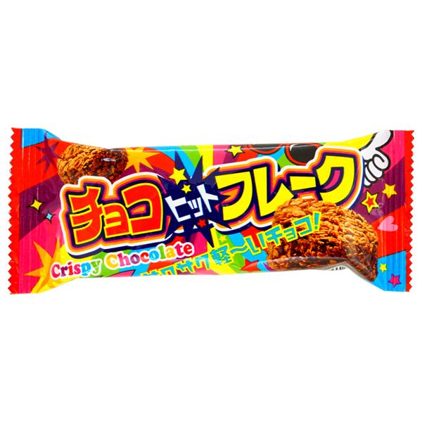 20円 チョコヒットフレーク [1箱 24個入]【駄菓子 やおきん チョコ まとめ買い 子供会 景品 縁日 ノベルティ】