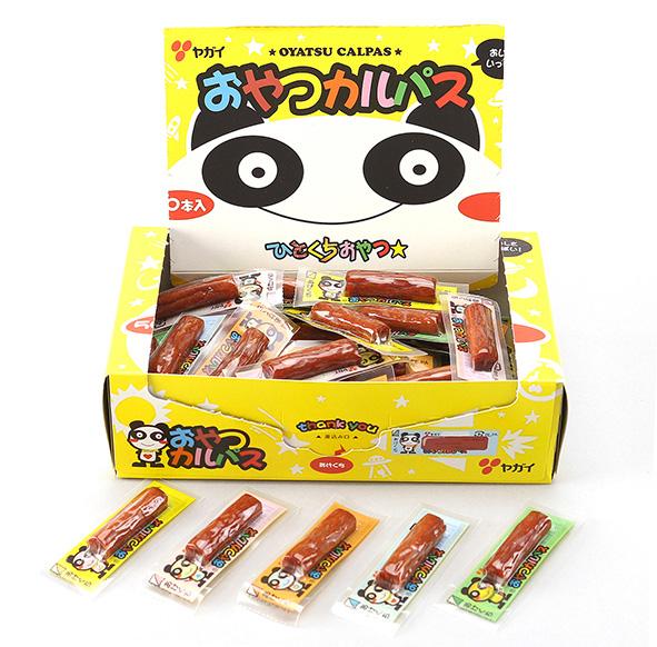 10円 本物 おやつカルパス 1箱50個入 駄菓子 世界の人気ブランド 珍味 ヤガイ サラミ おやつ カルパス プレゼント まとめ買い つまみ