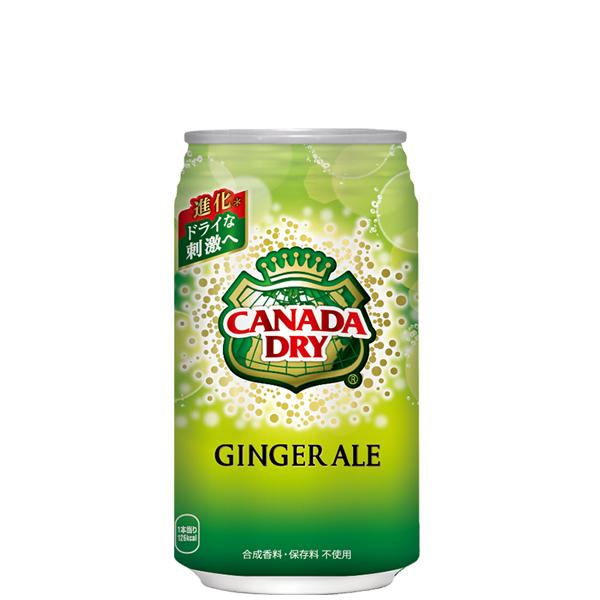 【3ケースセット】カナダドライジンジャーエール 350ml缶×72本