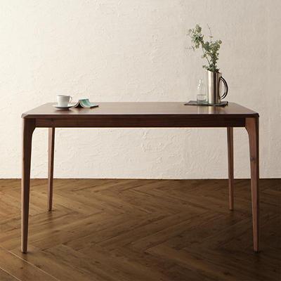 送料無料 天然木 ウォールナット無垢材 ダイニング Virgo バルゴ ダイニングテーブル W150 500021124